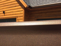 Bronze Colored Gutters